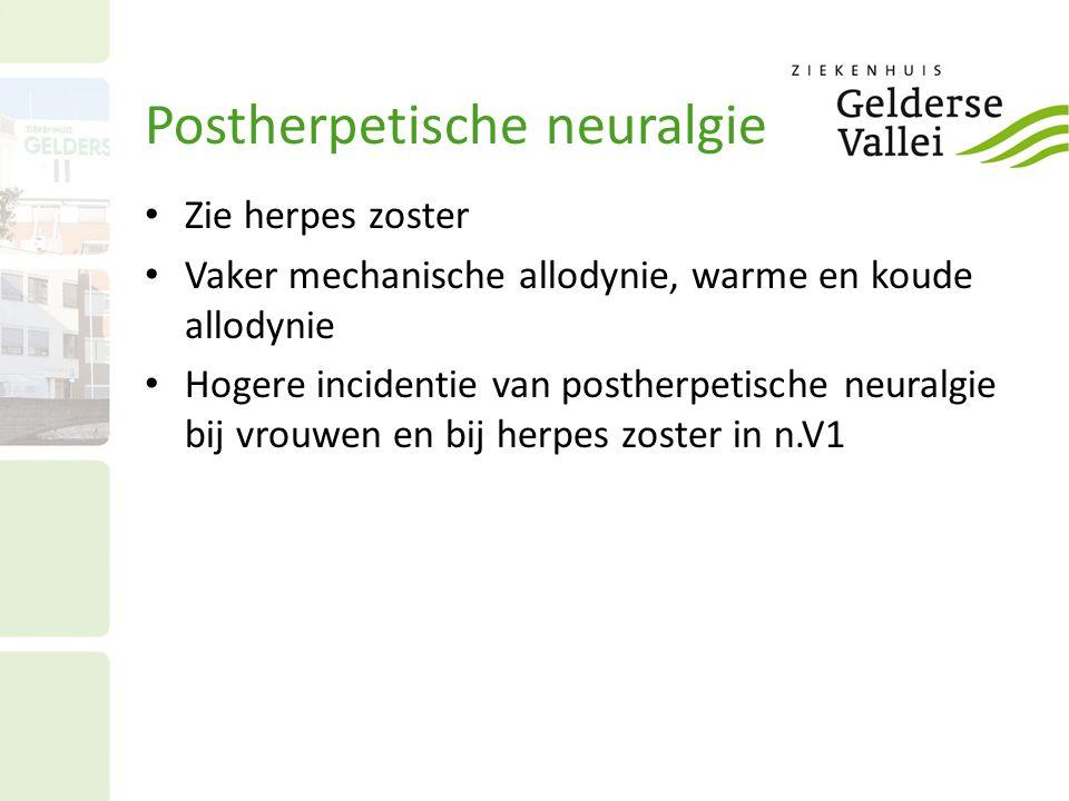 Postherpetische neuralgie