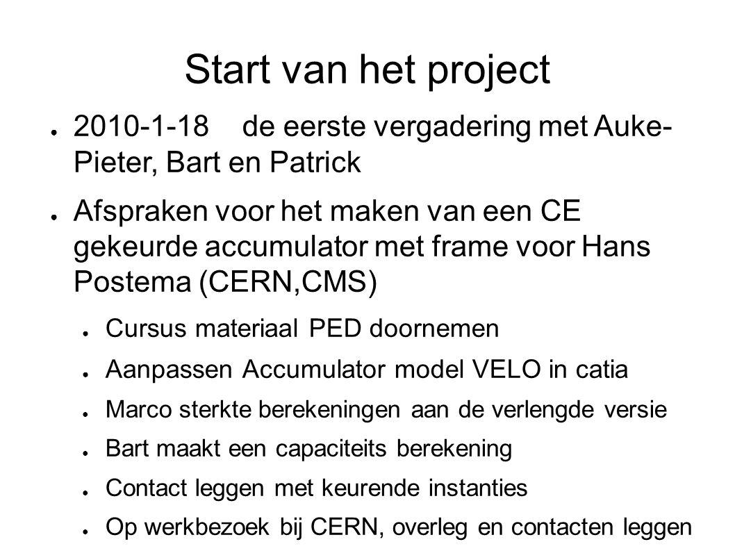 Start van het project 2010-1-18 de eerste vergadering met Auke- Pieter, Bart en Patrick.