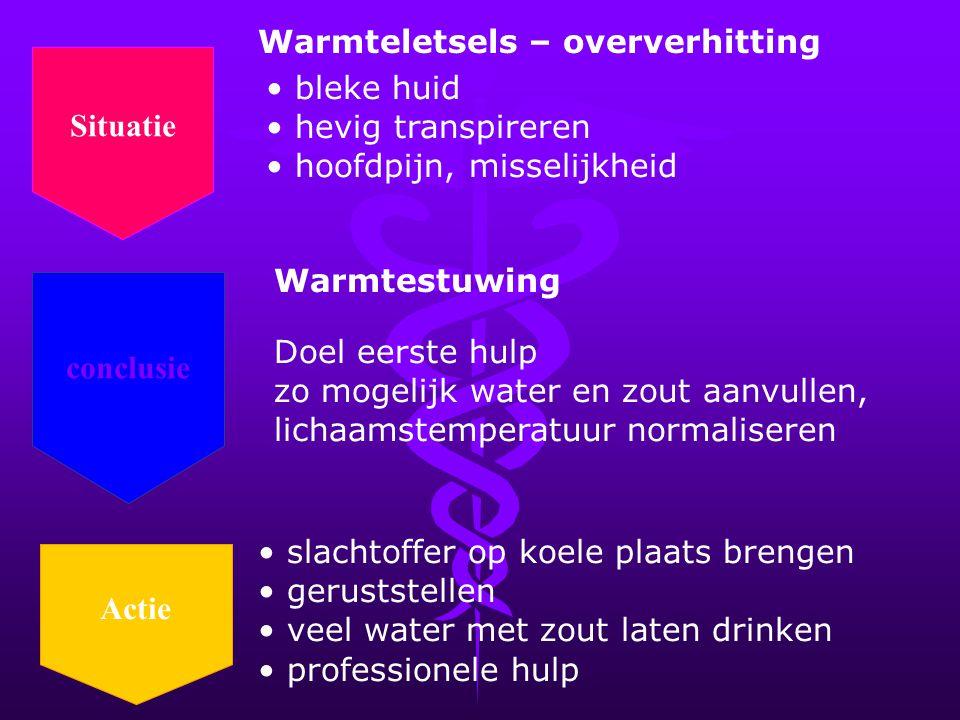 Warmteletsels – oververhitting