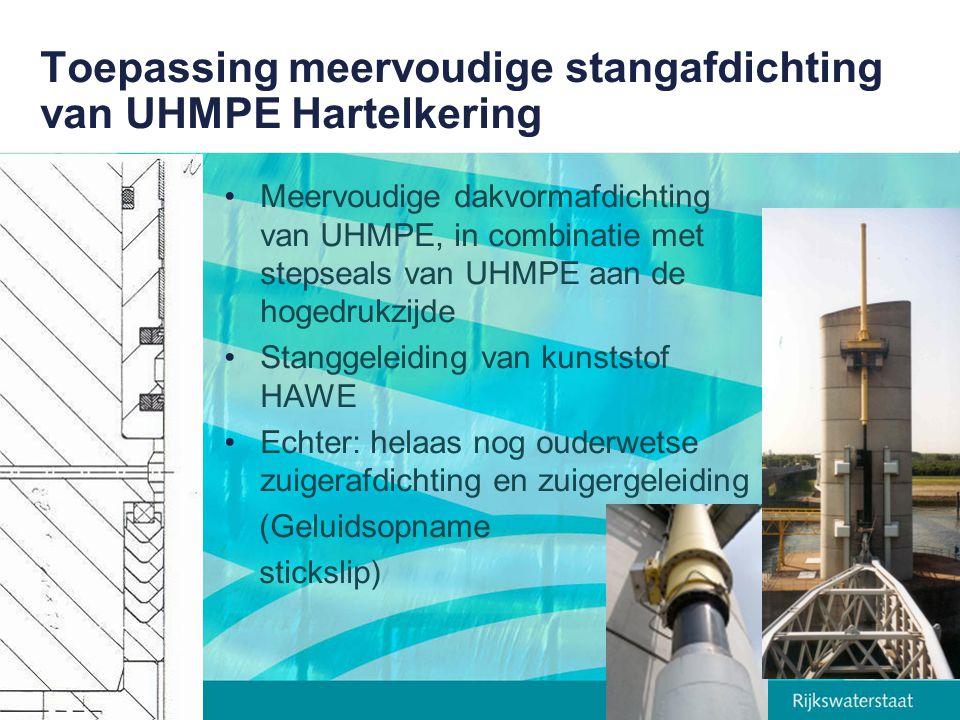 Toepassing meervoudige stangafdichting van UHMPE Hartelkering