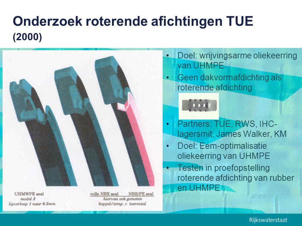 Onderzoek roterende afichtingen TUE (2000)