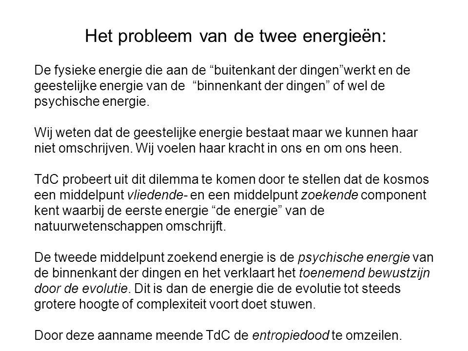 Het probleem van de twee energieën: