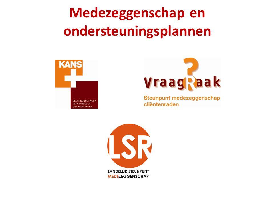 Medezeggenschap en ondersteuningsplannen