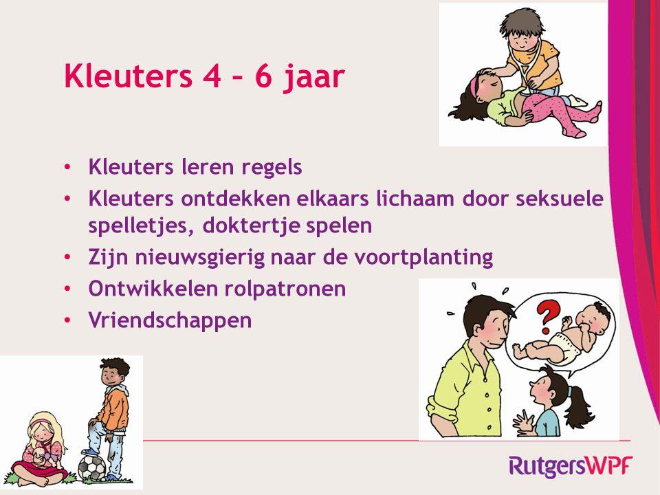 Kleuters 4 – 6 jaar Kleuters leren regels