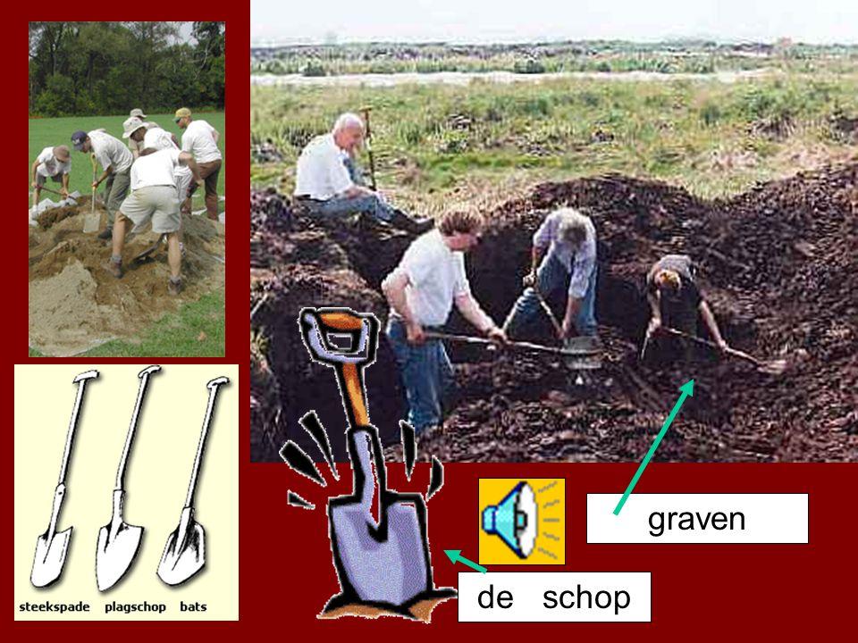 graven de schop