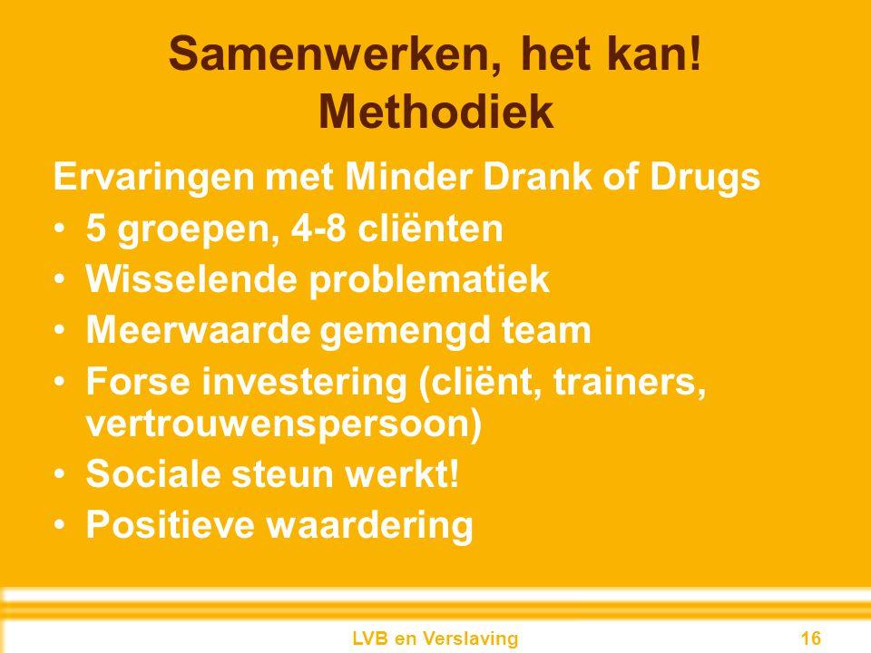 Samenwerken, het kan! Methodiek