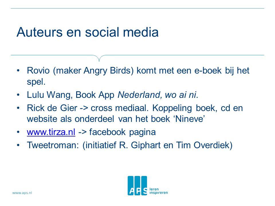 Auteurs en social media