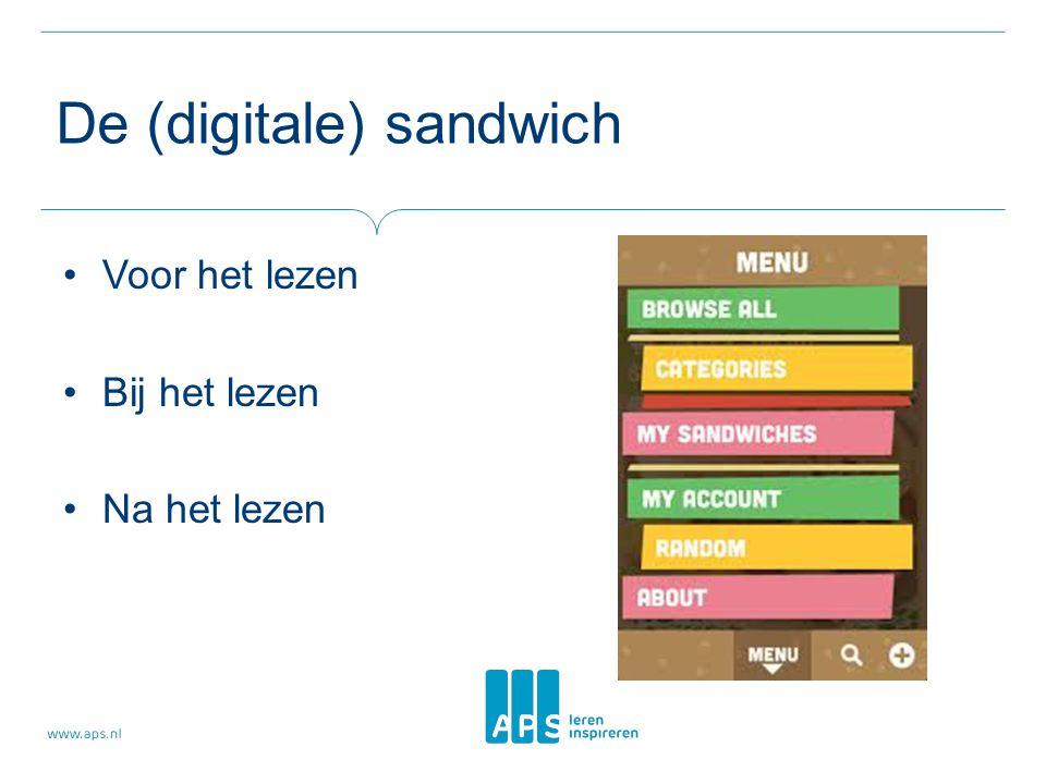 De (digitale) sandwich