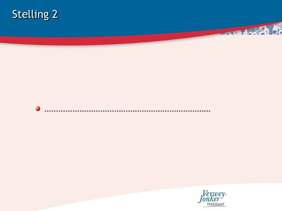Stelling 2 ………………………………………………………………