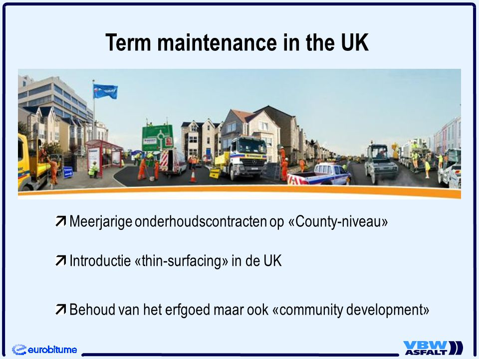 Term maintenance in the UK