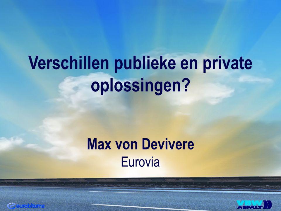 Verschillen publieke en private oplossingen