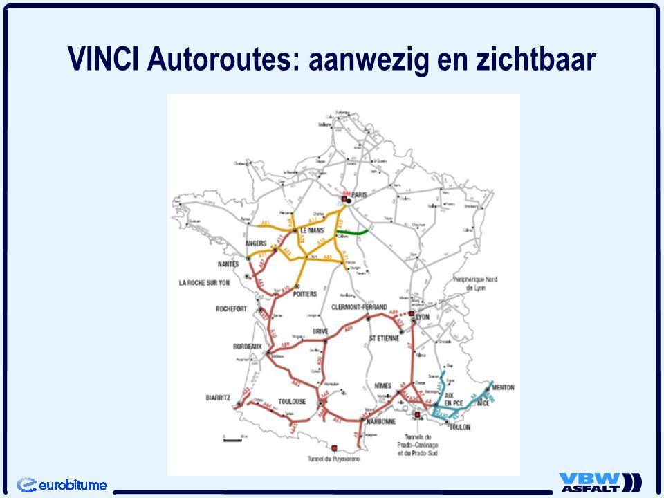 VINCI Autoroutes: aanwezig en zichtbaar