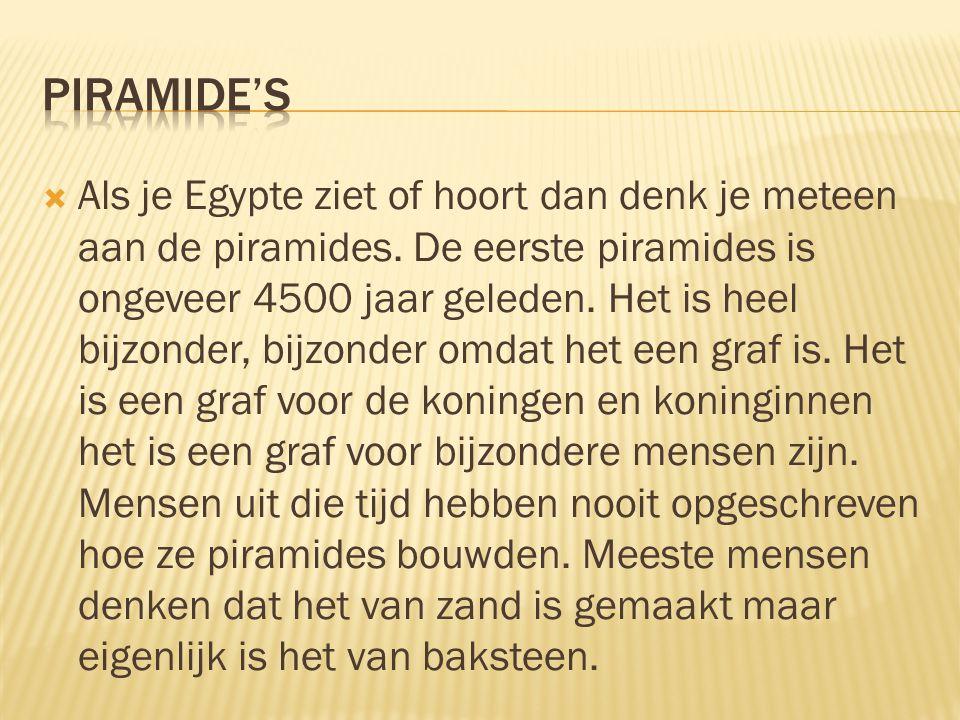 Piramide's