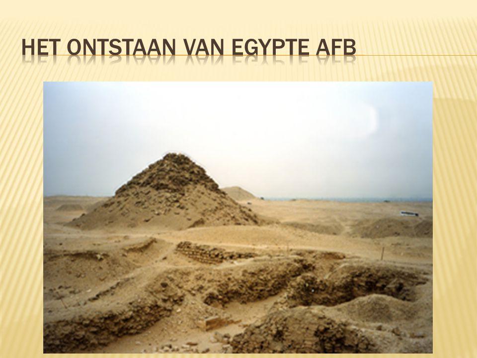 Het ontstaan van egypte afb
