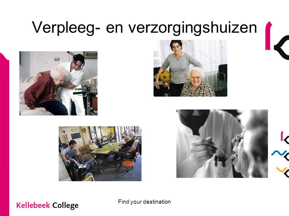 Verpleeg- en verzorgingshuizen