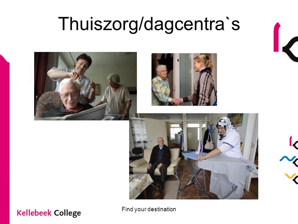 Thuiszorg/dagcentra`s