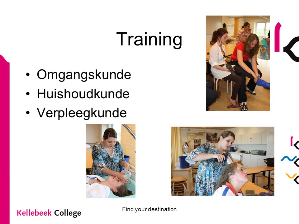 Training Omgangskunde Huishoudkunde Verpleegkunde