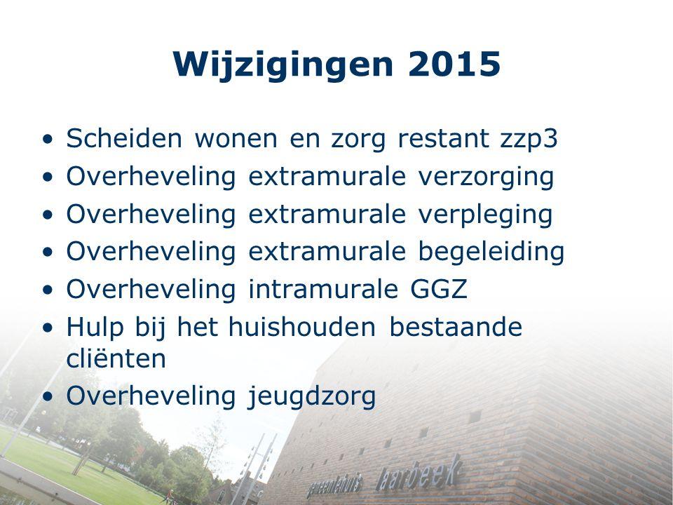 Wijzigingen 2015 Scheiden wonen en zorg restant zzp3