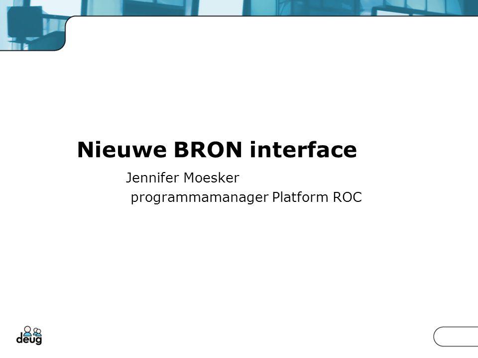 Jennifer Moesker programmamanager Platform ROC