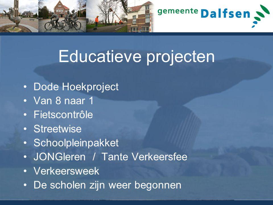 Educatieve projecten Dode Hoekproject Van 8 naar 1 Fietscontrôle