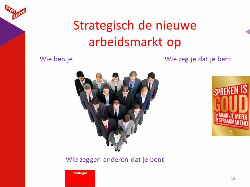 Strategisch de nieuwe arbeidsmarkt op