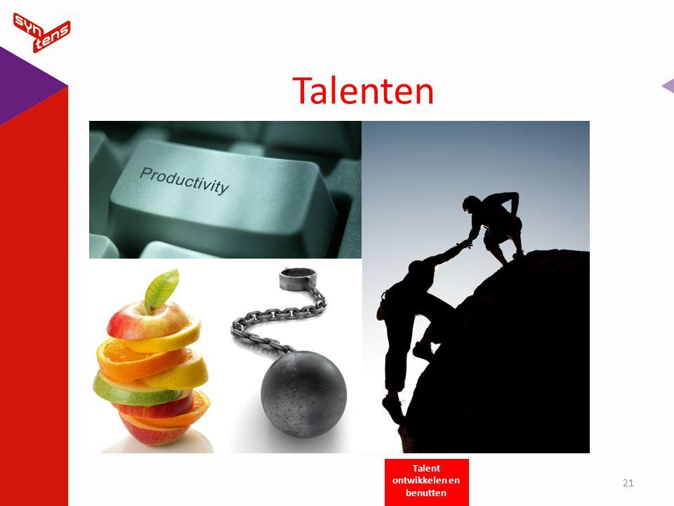 Talent ontwikkelen en benutten