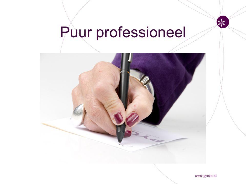 Puur professioneel