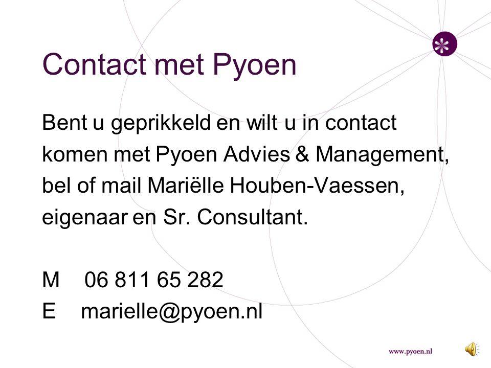 Contact met Pyoen