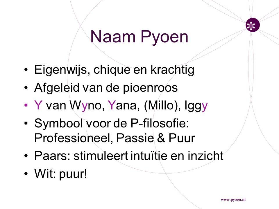 Naam Pyoen Eigenwijs, chique en krachtig Afgeleid van de pioenroos