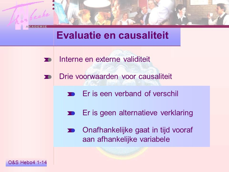 Evaluatie en causaliteit