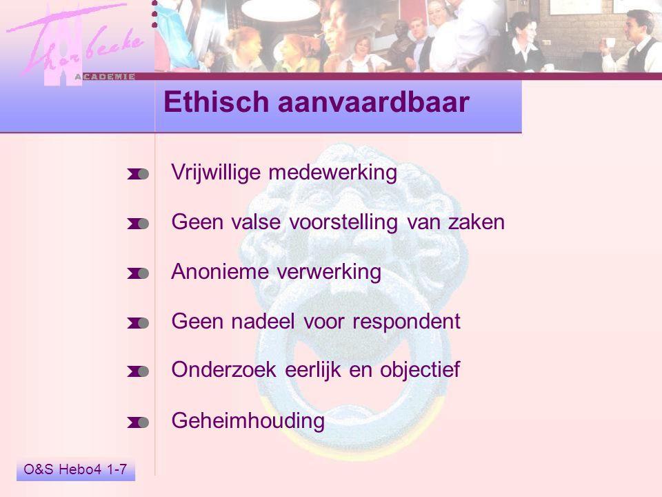 Ethisch aanvaardbaar Vrijwillige medewerking