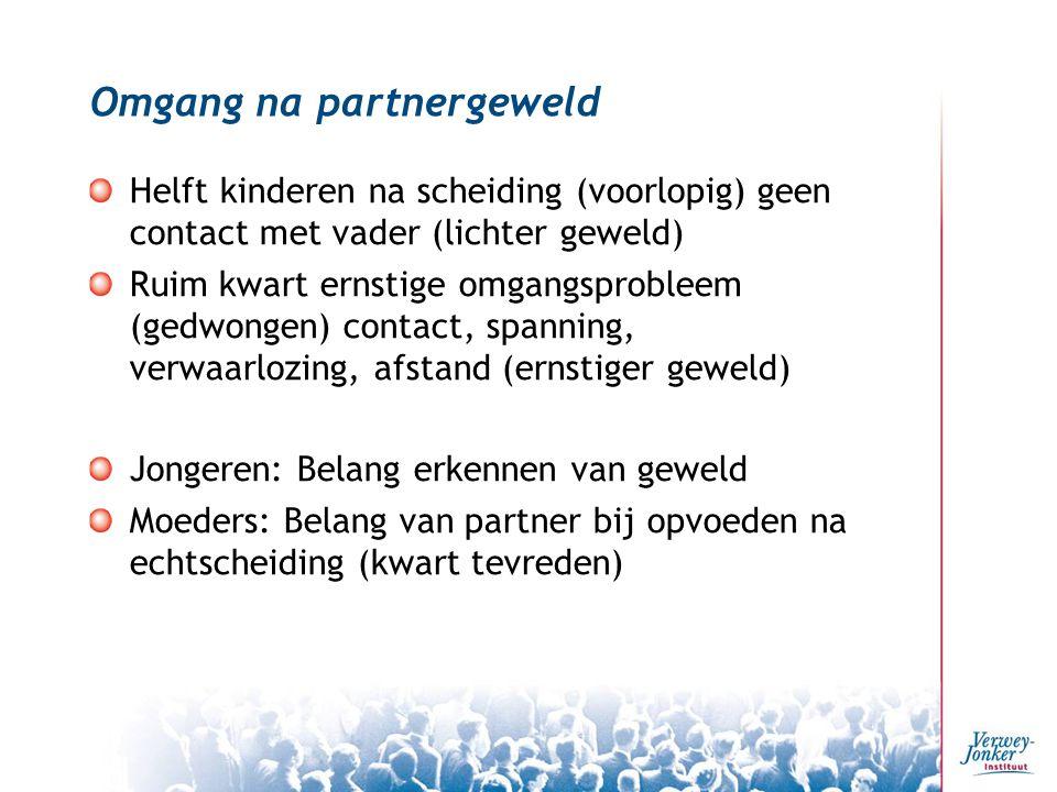 Omgang na partnergeweld