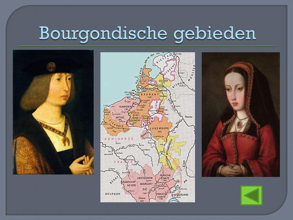 Bourgondische gebieden