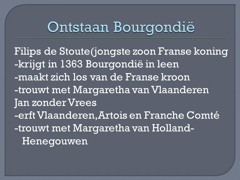 Ontstaan Bourgondië