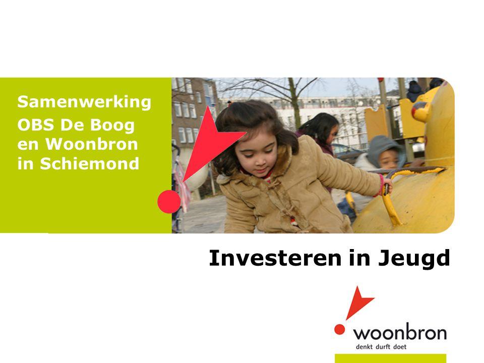 Samenwerking OBS De Boog en Woonbron in Schiemond