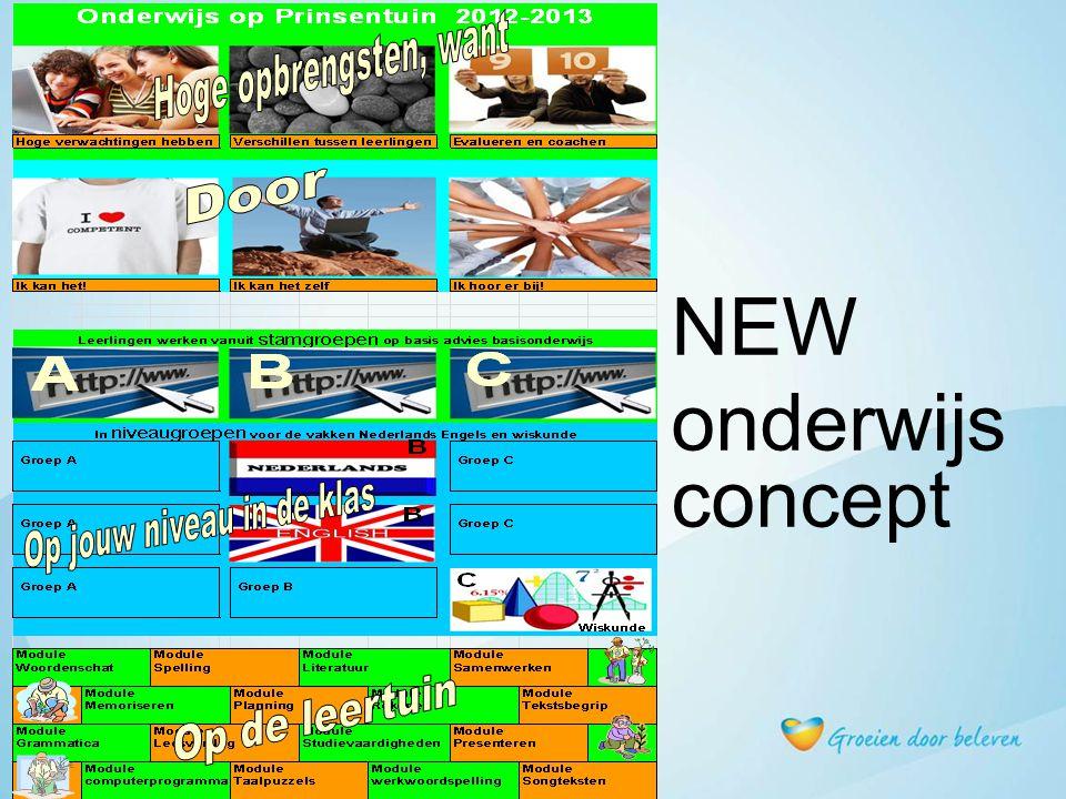 NEW onderwijsconcept