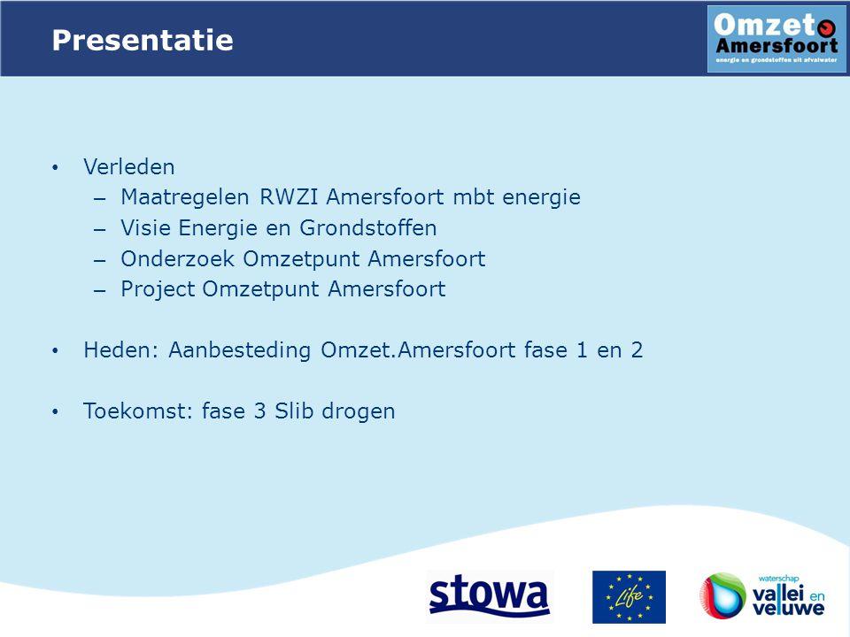 Presentatie Verleden Maatregelen RWZI Amersfoort mbt energie