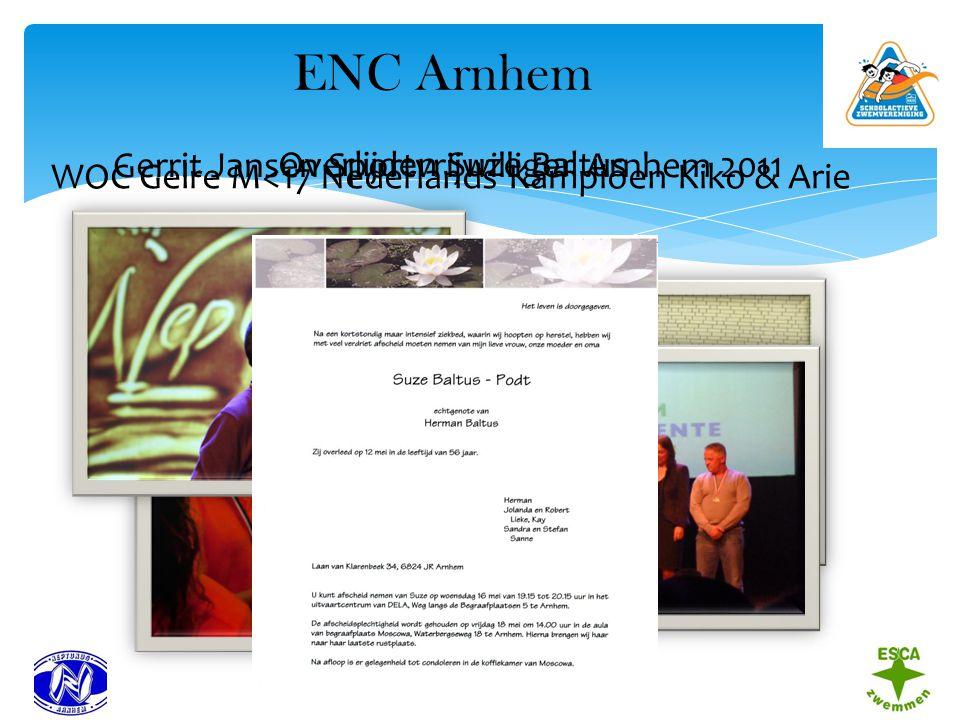 ENC Arnhem Gerrit Jansen Sportvrijwilliger Arnhem 2011