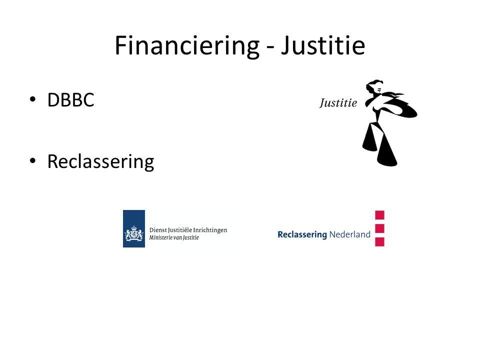 Financiering - Justitie