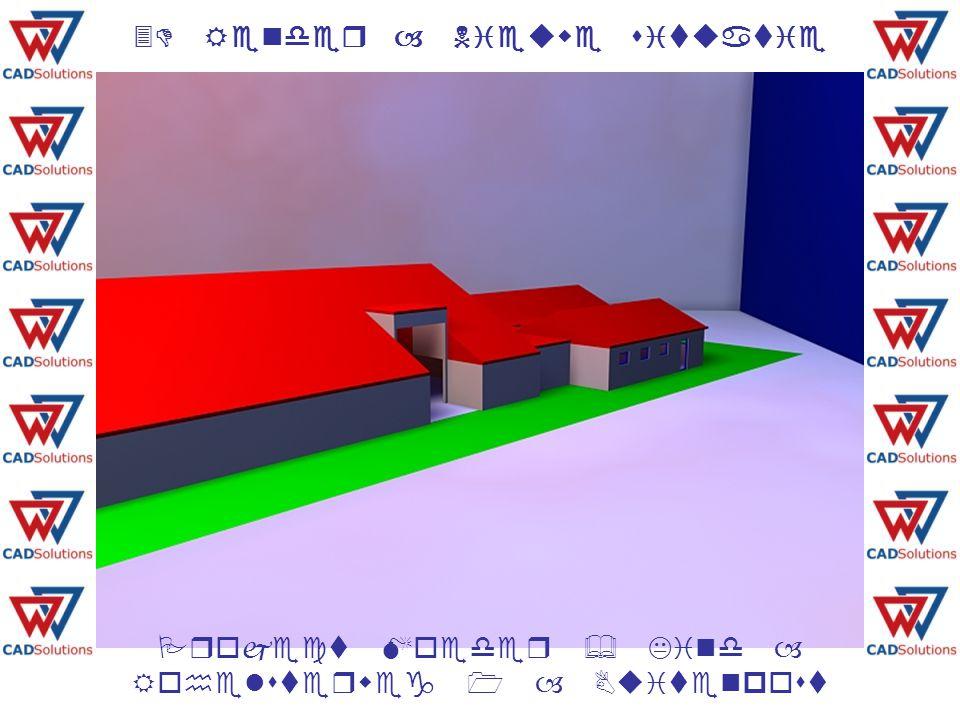 3D Render – Nieuwe situatie