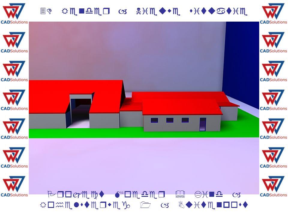 3D Render – Nieuwe situatie 3D Render – Nieuwe situatie