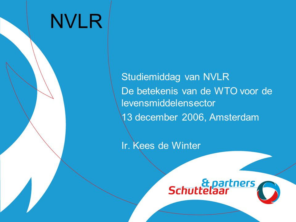 NVLR Studiemiddag van NVLR