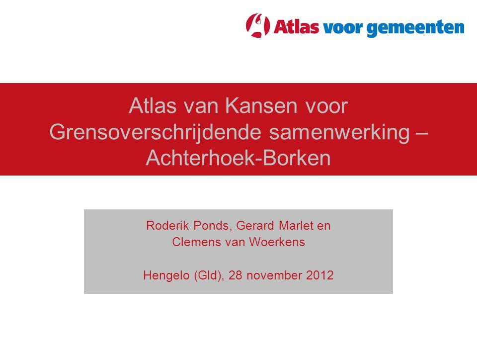 Atlas van Kansen voor Grensoverschrijdende samenwerking – Achterhoek-Borken