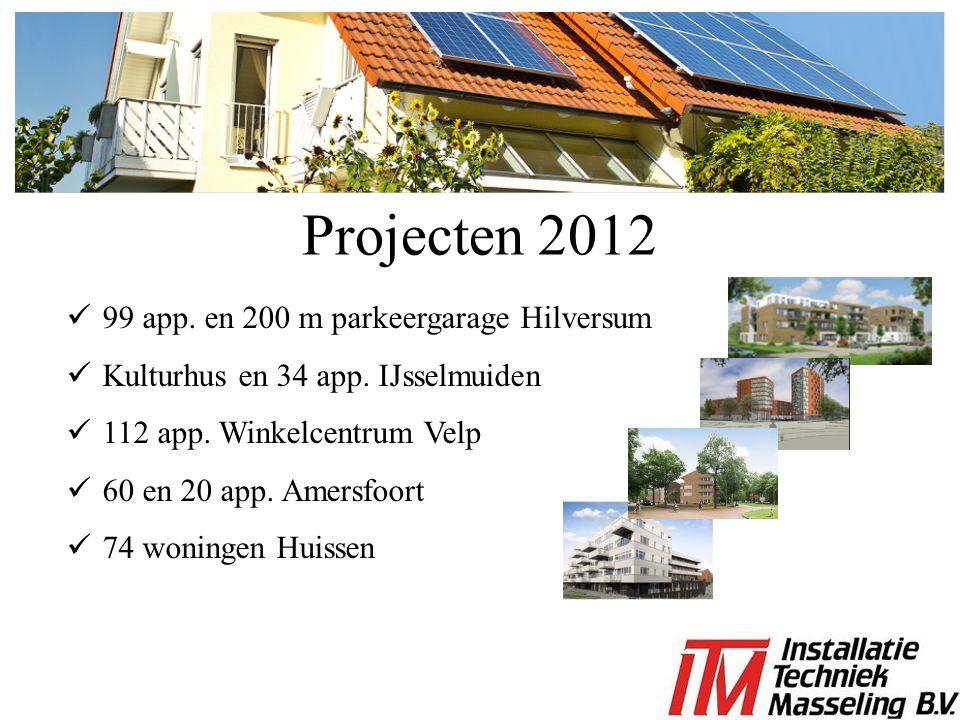 Projecten 2012 99 app. en 200 m parkeergarage Hilversum