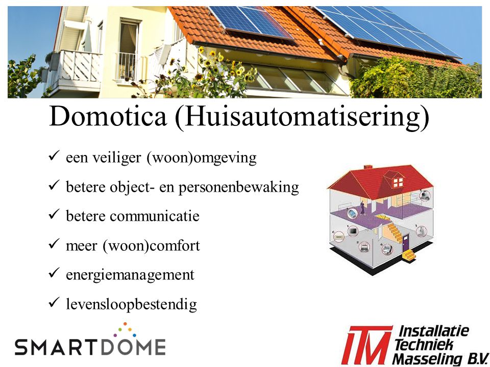 Domotica (Huisautomatisering)