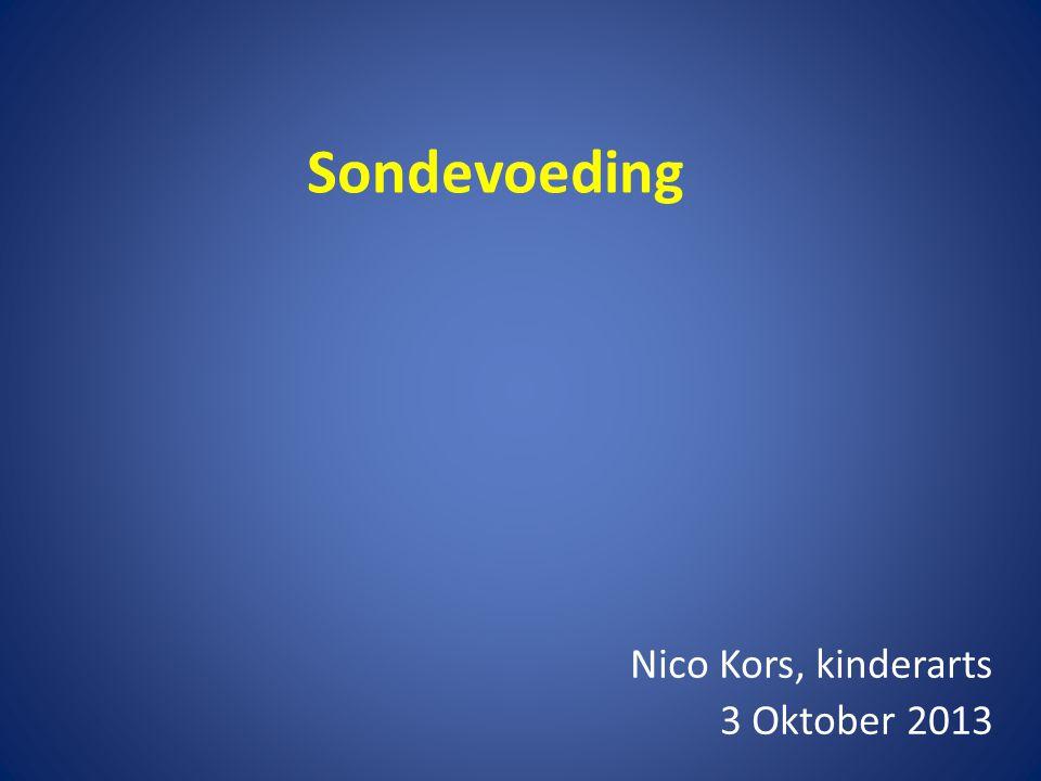 Nico Kors, kinderarts 3 Oktober 2013