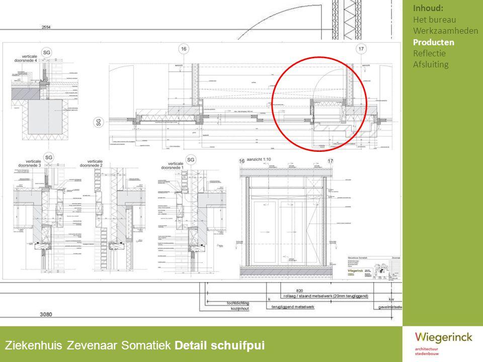 Ziekenhuis Zevenaar Somatiek Detail schuifpui