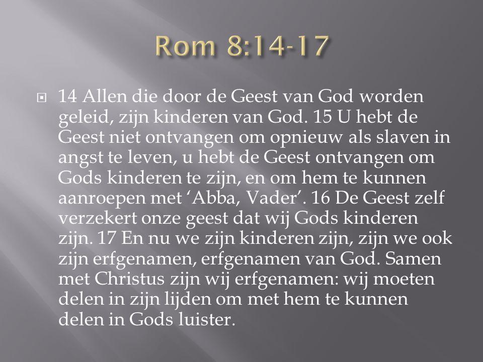 Rom 8:14-17