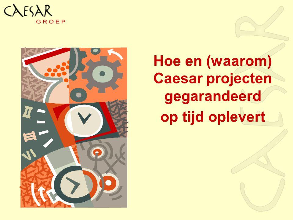 Hoe en (waarom) Caesar projecten gegarandeerd op tijd oplevert