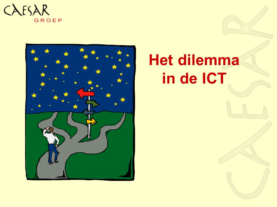 Het dilemma in de ICT